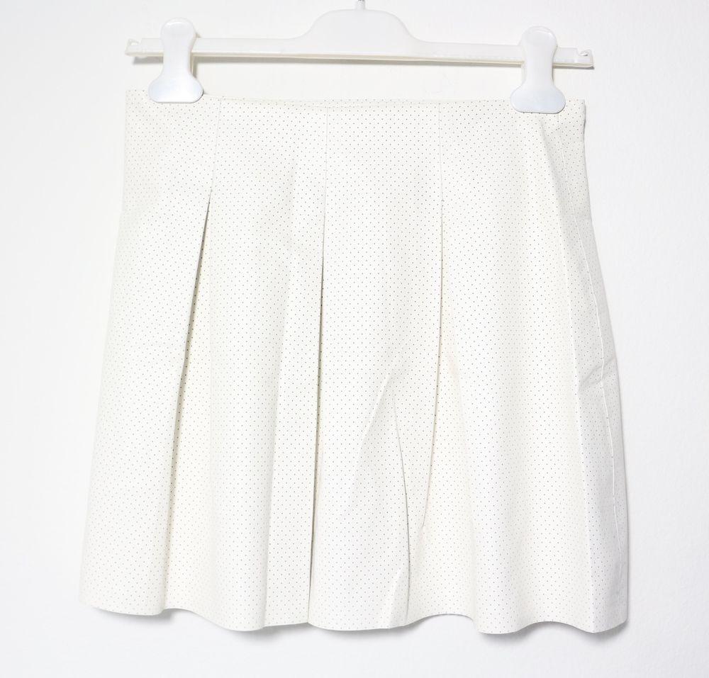 BCBGeneration Women's Perforated Pleated Short Skirt Size S | eBay