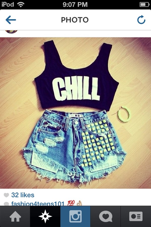 tank top chill shoes shorts cool hipster