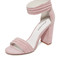 Jeffrey campbell lindsay ii sandals - pink combo