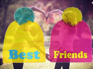 Best Friends Beanie Bff Beanie Friends Beanie BFF Love Beanie Hot 2013 Celebrity | eBay