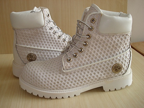 TB206-203 Timberland Mens 6 Inch Pure White Boots Online [Timberland 100104] - $94.14 :