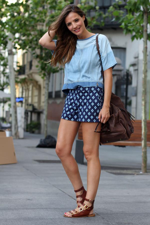 lady addict t-shirt shorts
