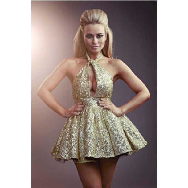 Collection Sequin Dress Short Pictures - Reikian