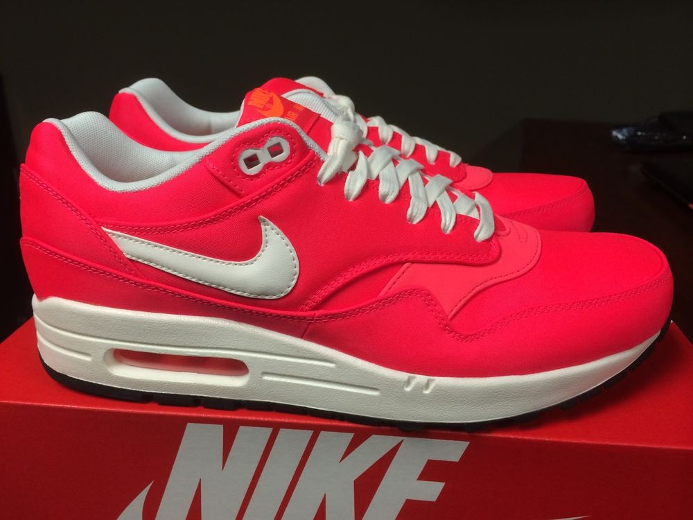 "Nike Air Max 1 PRM ""Magista Collection"" Hyper Punch Ivory 665873 600 