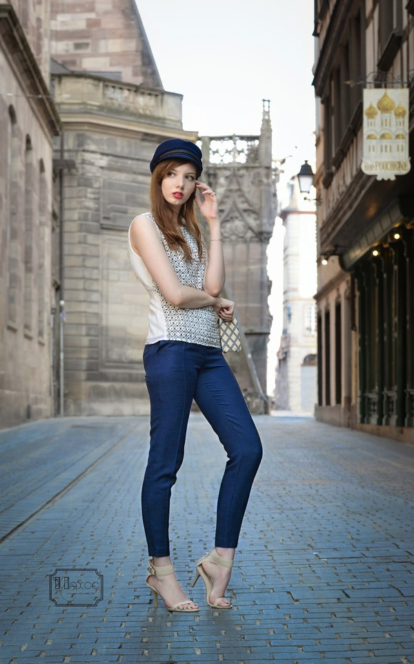 maxce top shoes jewels kookai pants