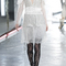 Hand beaded lace long sleeve dress by rodarte | moda operandi
