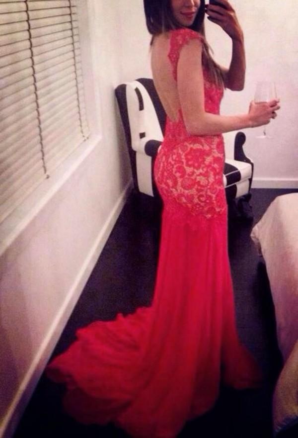 dress red dress