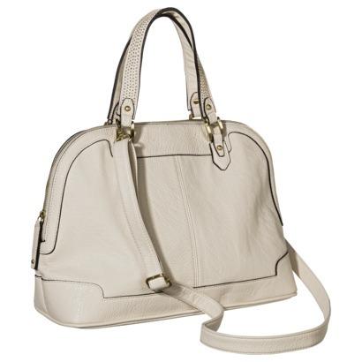 Merona® Solid Satchel Handbag with Removable... : Target