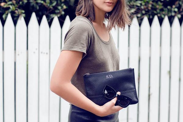 harper & harley t-shirt skirt shoes bag sunglasses