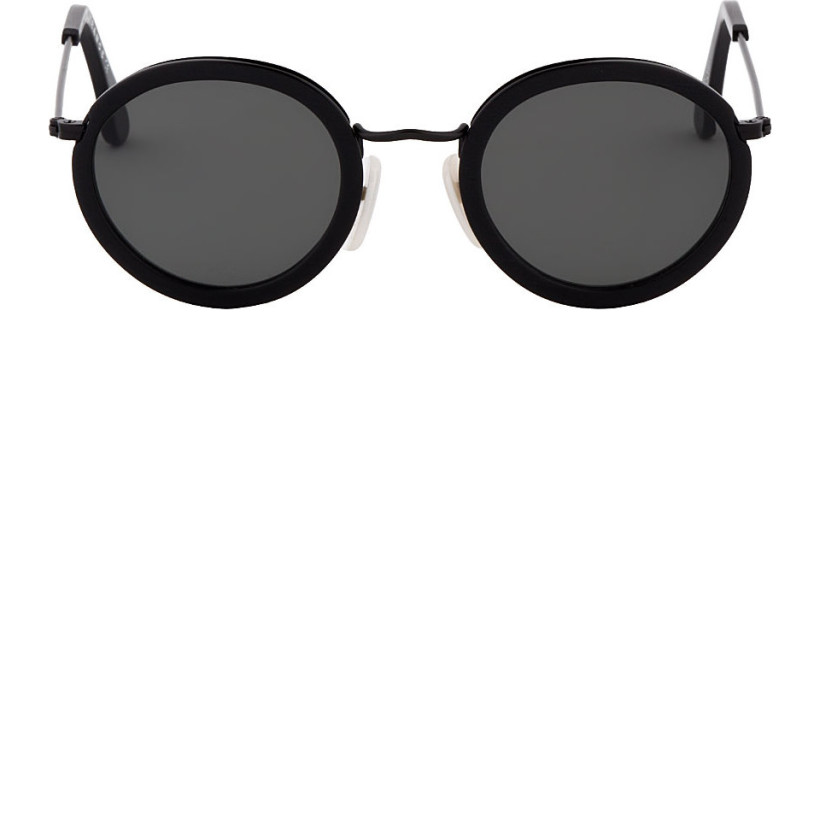 Acne Studios - Round Matte Pascal Sunglasses   SSENSE