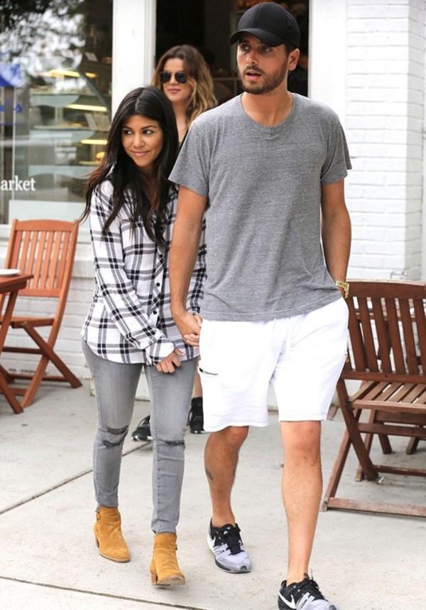 jeans kourtney kardashian blouse