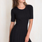 Witch craft dress in black - black swallow boutique