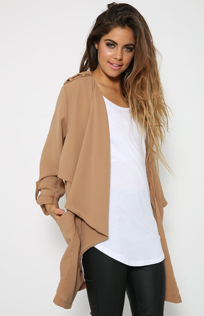 Tribe Jacket - Camel   Back In Stock   Clothes   Peppermayo
