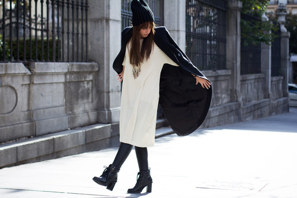 lucitisima pants dress shoes coat hat t-shirt jewels