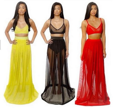 2014 Sexy Bandage Dress Fashion Club Dress High Waisted Cropped 2 Piece Casual Bodycon Dress Maxi  Evening Dress-in Apparel & Accessories on Aliexpress.com