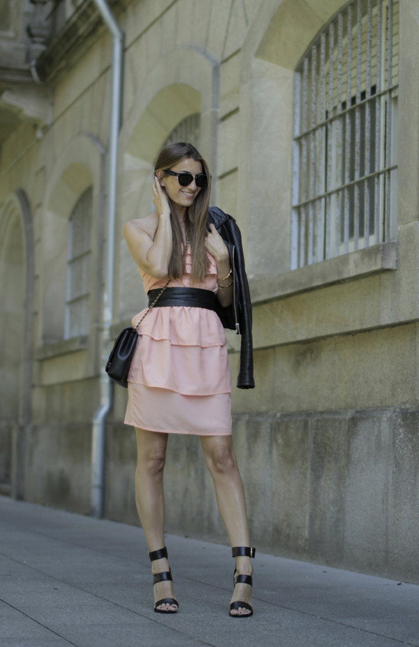 b a r t a b a c dress jacket shoes bag sunglasses