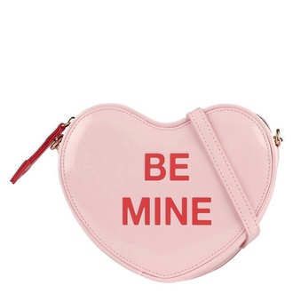 bag be mine mine heart candy pink pastel pastel pink cute kawaii sweet soft lovely purse soft grunge candy heart candy hearts petite lolita kawaii accessory