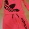Adidas neon color women tracksuit - athletic apparel