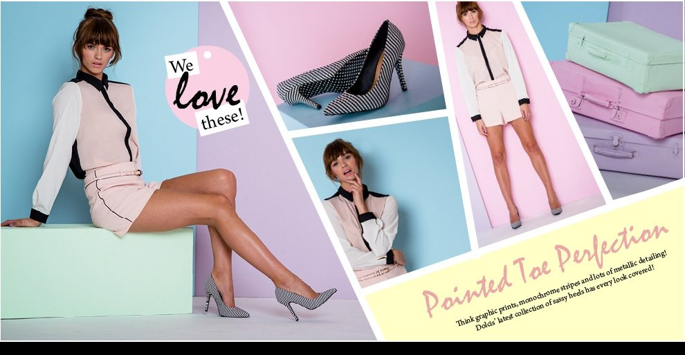 Ladies fashion Footwear from Dolcis