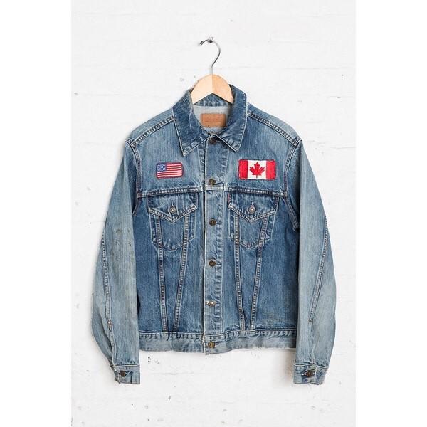 jacket canada u.s.a vintage jacket