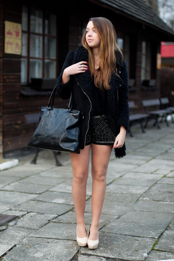 kolorowa dusza coat bag jewels shoes