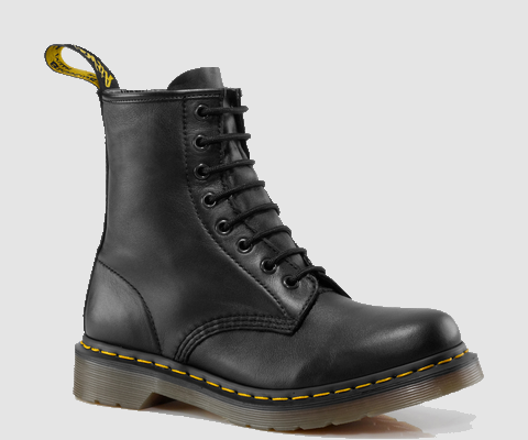 Wonderbaar shoes, black, combat boots, boots, cool, style, fashion, cute EW-42