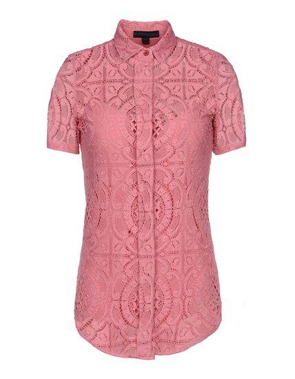 Burberry Prorsum Short Sleeve Shirt - Burberry Prorsum Shirts Women - thecorner.com