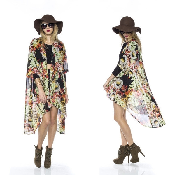 shirt flowers child kimono 70s style style bohemian funny trendy chic vanityv vanity row dress to kill