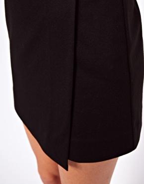 ASOS | ASOS Wrap Skirt in Ponte at ASOS