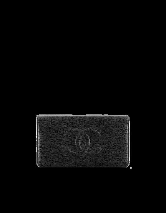Wallet in grained calfskin - CHANEL