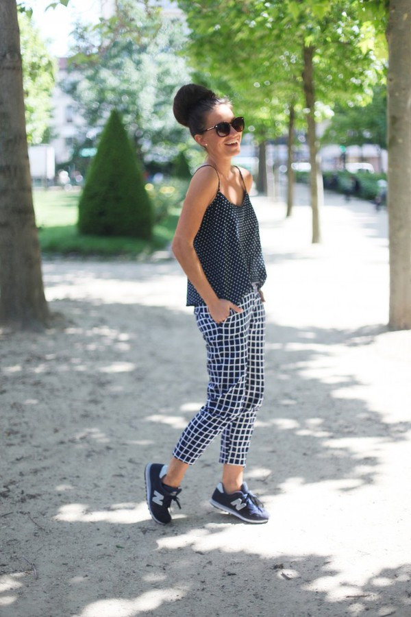 frassy tank top pants shoes