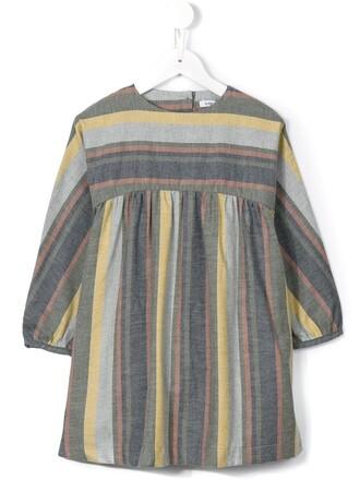 dress girl toddler stripes