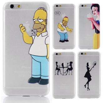 phone cover iphone 6 case iphone case the simpsons snow white