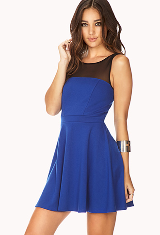 Forever Cool Fit & Flare Dress   FOREVER21 - 2000129808