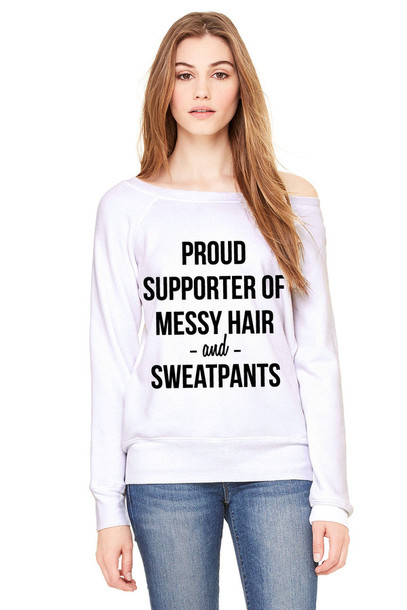 white sweater quote on it funny funny sweater sweater