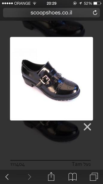 shoes scoop black boots