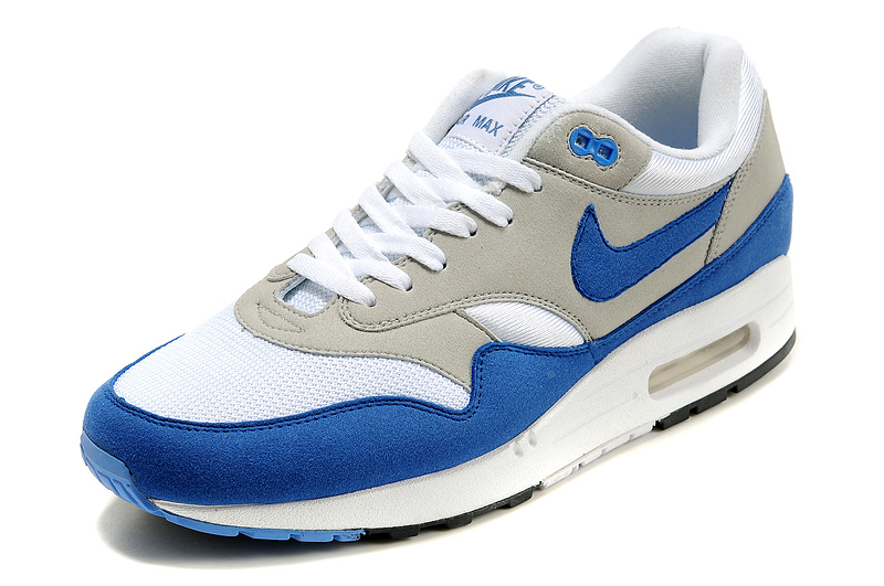 Wholesale Mens Nike Air Max 87 Shoes: Shop Mens Womens Nike Air Max 87 White Grey Blue New Arrivals