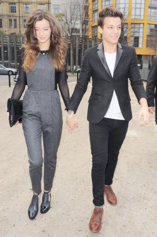 pants grey pants jumpsuit overalls pants jeans eleanor calder bag blouse shoes shirt