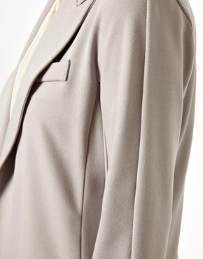 ASOS   ASOS Premium Blazer in Longline at ASOS