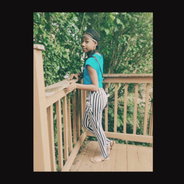 stripes harem pants cute outfits loose tops crop tops