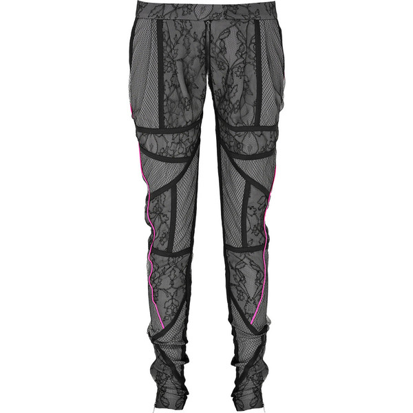 Paneled lace pants - Preen - Polyvore