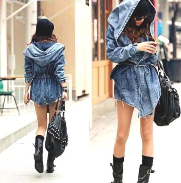 jacket cape denim denim jacket