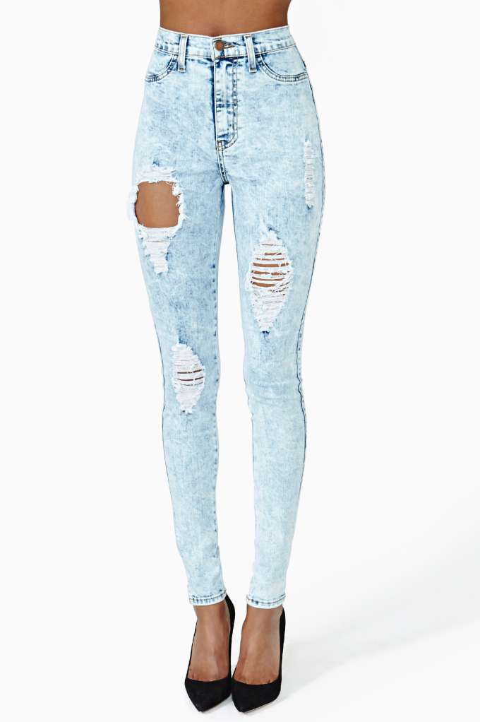 Search & Destroy Skinny Jeans | Shop Back In Stock at Nasty Gal