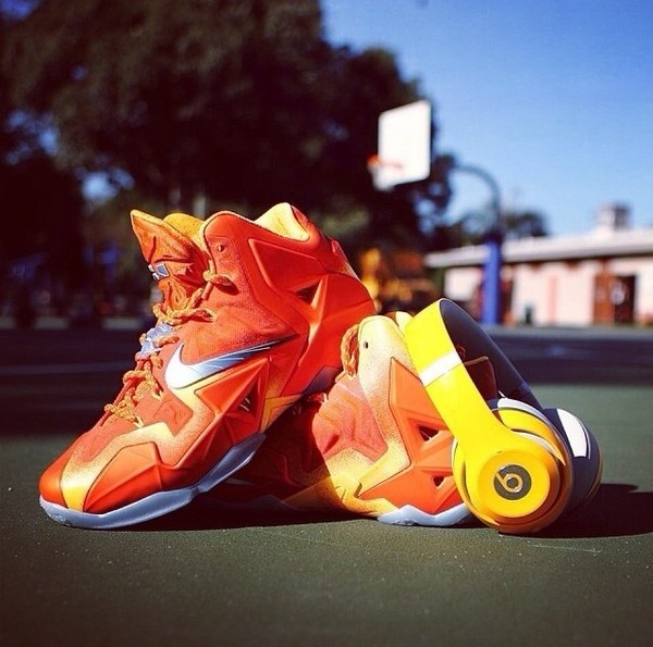shoes orange high top sneakers anybody can wear them smexi