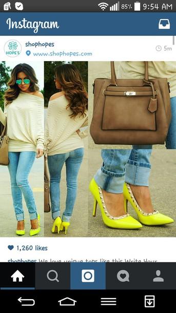 blouse crean offshoulder long sleeves similartop