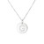 Silver Constellation Diamond Initial G Necklace by La Soula | La Soula Jewelry