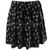 Women Mid Elastic Waist Gold Cross Print Knife Pleats Short Velvet Mini Skirt | eBay