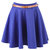 Blue Skater Skirt at Fashion Union