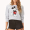 Cropped mickey mouse sweatshirt | forever21 - 2000110615