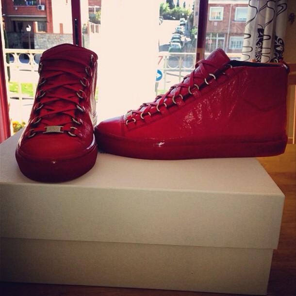 shoes balenciaga boots